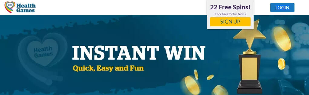 Health Lottery Instant Win
