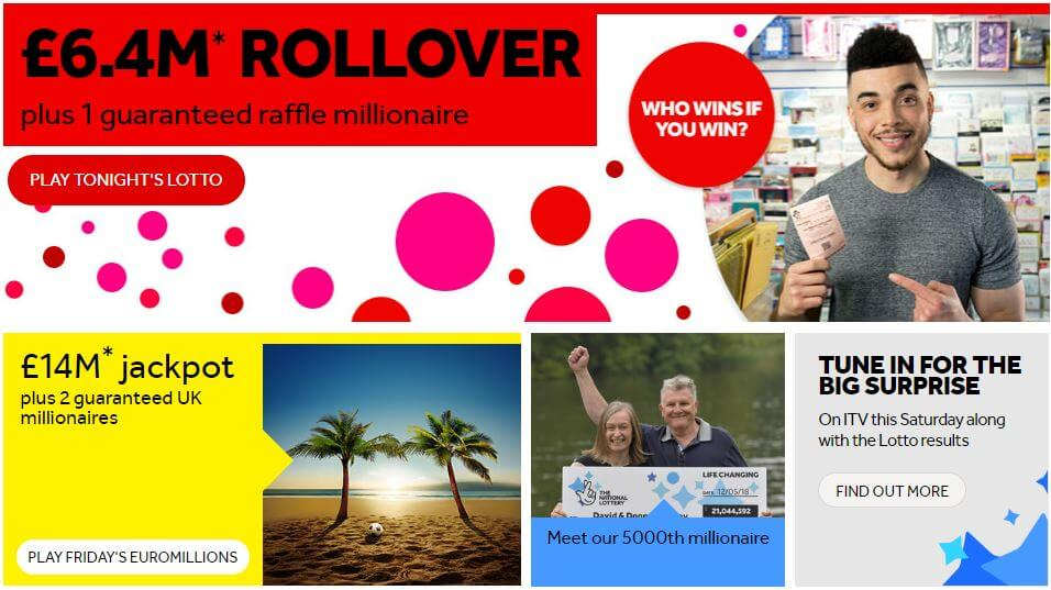 National Lottery Site