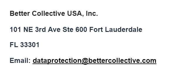 Better Collective Contact USA