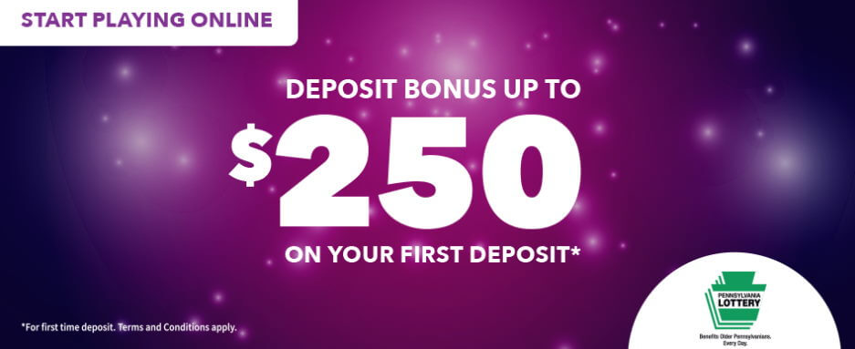 PA iLottery welcome bonus